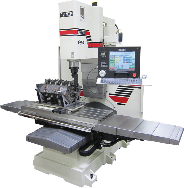 Rottler F69a Programmable Automatic Machining Center